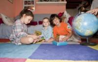 Thomas Curto, Benjamin, Olivia - 03-10-2012 - Erika Di Martino e l'homeschooling:la scuola fuori dalla scuola!