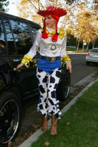 Gwen Stefani - Los Angeles - 31-10-2009 - Ad Halloween le star si vestono così