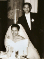 Michelle Obama, Barack Obama - Washington - 04-10-2012 - Amal e George: Hello! e People svelano l'abito della sposa