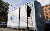 Il vecchio chiosco bruciato - Milano - 03-10-2012 - Il chiosco dei panini anti N'drangheta