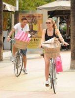 Ilary Blasi, Francesco Totti - Miami - 04-06-2012 - Lo sport? Decisamente è meglio in coppia...