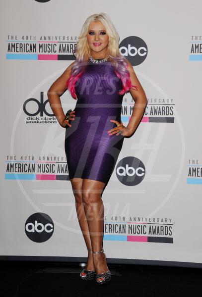 Christina Aguilera - Los Angeles - 09-10-2012 - Fermate Christina Aguilera: la cantante è sempre più magra