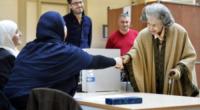 Regina Fabiola - Bruxelles - 14-10-2012 - La regina Fabiola del Belgio al voto a Bruxelles