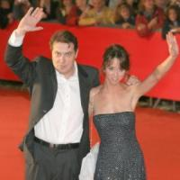 Corrado, Caterina Guzzanti - Roma - 21-10-2006 - Premiere di