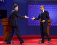 Mitt Romney, Barack Obama - Denver - 05-10-2012 - Jake Gyllenhaal sostiene Mitt Romney, ma è un falso