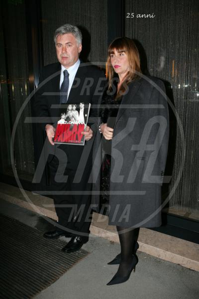 Luisa Gibellini, Carlo Ancelotti - Milano - 16-10-2012 - Niente è per sempre, soprattutto in amore