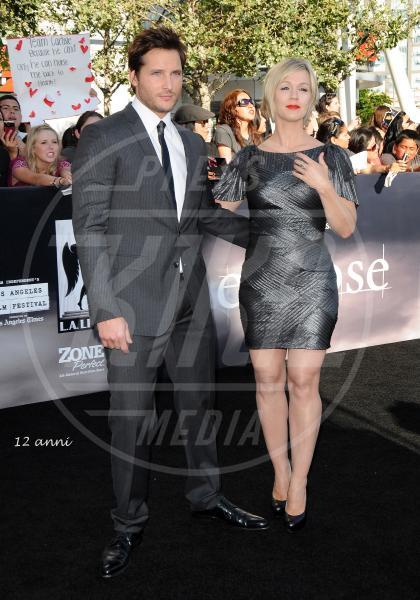 Peter Facinelli, Jennie Garth - Los Angeles - 16-10-2012 - Michael Moore  e Kathleen Glynn si sono detti addio