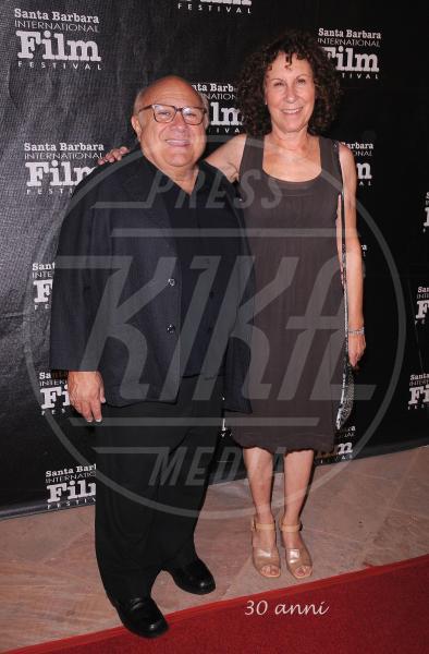 Rhea Perlman, Danny DeVito - Santa Barbara - 16-10-2012 - 2013: l'annus horribilis delle coppie vip