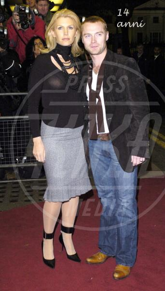 Yvonne Connolly, Ronan Keating - Londra - 16-10-2012 - 2013: l'annus horribilis delle coppie vip