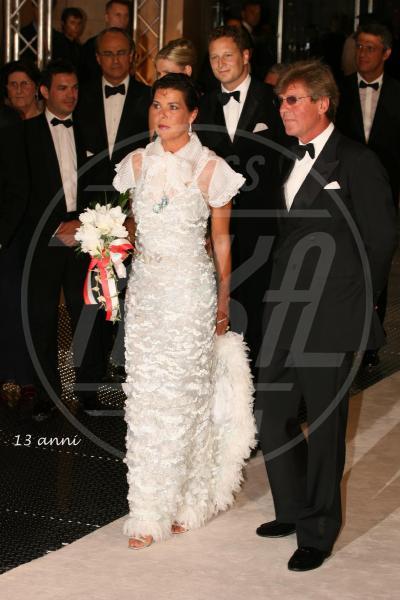 Ernst di Hannover, Principessa Carolina di Monaco - Montecarlo - 16-10-2012 - Amal e George: Hello! e People svelano l'abito della sposa