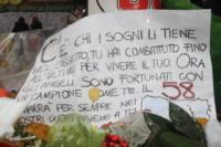Camera ardente Marco Simoncelli - 26-10-2011 - Superbike: Andrea Antonelli è morto a Mosca