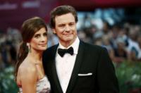 Livia Giuggioli, Colin Firth - Venezia - 05-09-2011 - Italia: per i vip stranieri è la terra delle promesse