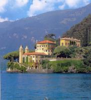 Lago di Como - Como - 18-10-2012 - Italia: per i vip stranieri è la terra delle promesse