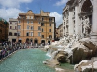 Fontana di Trevi - Roma - 18-10-2012 - Italia: per i vip stranieri è la terra delle promesse