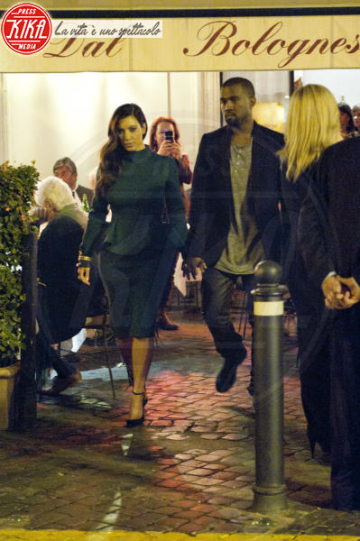 Kim Kardashian, Kanye West - Roma - 19-10-2012 - Estate 2019: i vip turisti abituali in Italia