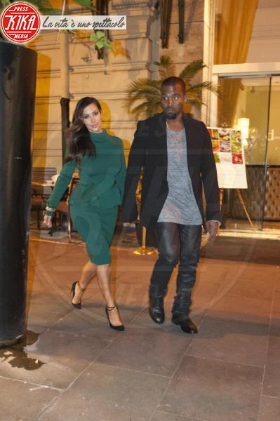 Kim Kardashian, Kanye West - Roma - 19-10-2012 - Trump e gli altri: i vip in italia per una vacanza 5 stelle