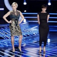 Arisa, Simona Ventura - Milano - 19-10-2012 - Arisa pubblica il suo primo Best of: la sua carriera in un album