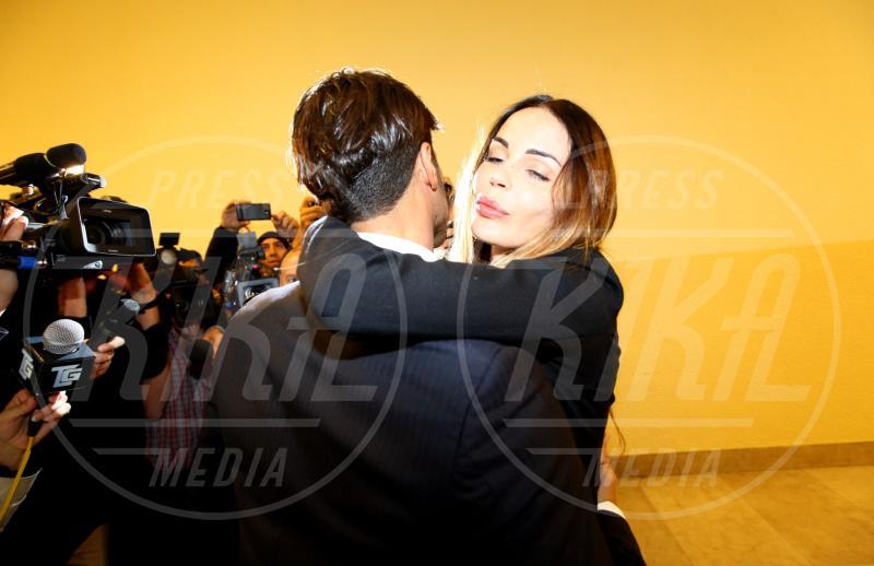 Fabrizio Corona, Nina Moric - Milano - 17-10-2012 - Nina Moric ricoverata per overdose di farmaci