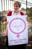 "Raffaella Mauceri - Siracusa - 17-10-2012 - Raffaella Mauceri: ""Diciamo basta ai femminicidi"""