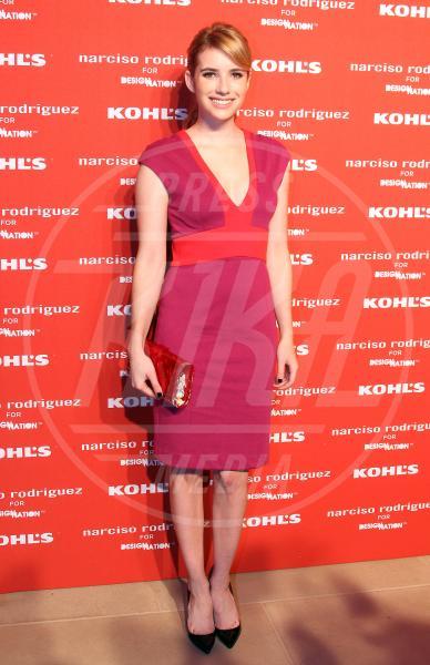 Emma Roberts - New York - 22-10-2012 - Quest'anno la primavera è tutta fucsia!