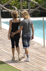 Enzo Paolo Turchi, Carmen Russo - Ravello - 29-07-2012 - Palpatine hot, scopri chi allunga le mani