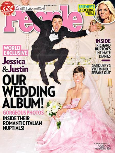 Jessica Biel, Justin Timberlake - Puglia - 24-10-2012 - Dani Alves sposo in segreto, ma quante star come lui!