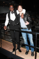 Puff Daddy, Adrien Brody - Cannes - 23-05-2012 - Diddy ferito a clavicola, costole e collo nell'incidente d'auto