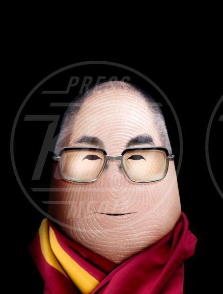 Dalai Lama - Bologna - 29-10-2012 - I personaggi che hanno fatto la storia ritratti in punta di Dito