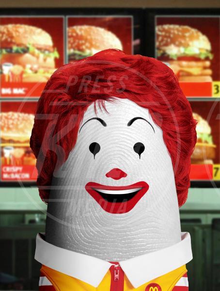 Ronald McDonald - Bologna - 29-10-2012 - I personaggi che hanno fatto la storia ritratti in punta di Dito