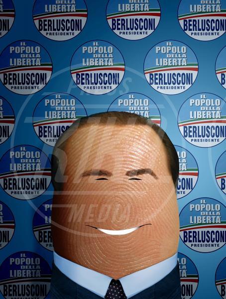 Silvio Berlusconi - Bologna - 29-10-2012 - I personaggi che hanno fatto la storia ritratti in punta di Dito