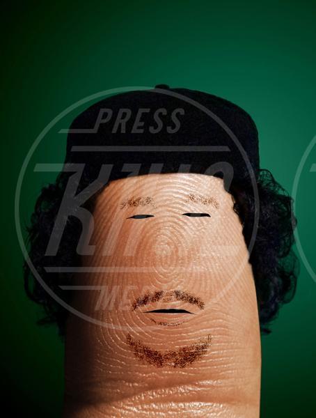 Muammar Gaddafi - Bologna - 29-10-2012 - I personaggi che hanno fatto la storia ritratti in punta di Dito