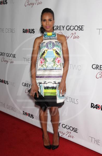 Kerry Washington - Hollywood - 29-10-2012 - Il ritorno dell'abito dalla linea a trapezio