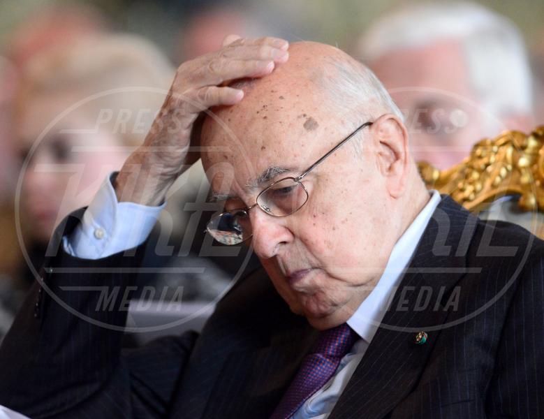 Giorgio Napolitano - Roma - 30-10-2012 - Da Napolitano a Monti dormono tutti al 150 della Corte dei Conti