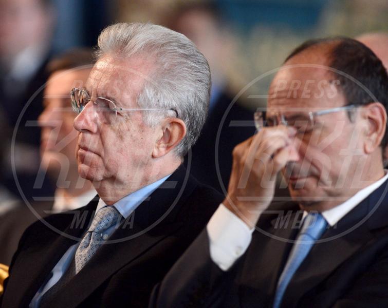 Mario Monti, Renato Schifani - Roma - 30-10-2012 - Da Napolitano a Monti dormono tutti al 150 della Corte dei Conti