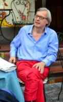 Vittorio Sgarbi - Taormina - 28-06-2012 - Incidente per Vittorio Sgarbi: l'autista in coma farmacologico