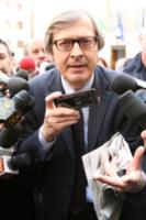 Vittorio Sgarbi - Salemi - 19-03-2010 - Incidente per Vittorio Sgarbi: l'autista in coma farmacologico