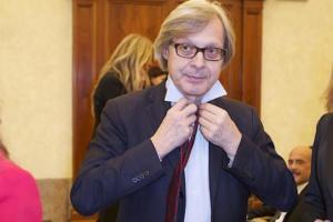 Vittorio Sgarbi - Roma - 09-11-2011 - Incidente per Vittorio Sgarbi: l'autista in coma farmacologico