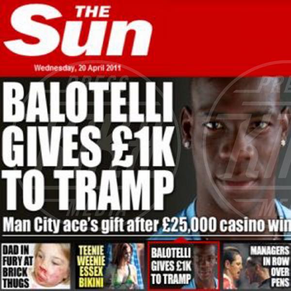 Mario Balotelli - Manchester - 20-04-2011 - Mario Balotelli: da bad boy alla cover di Time