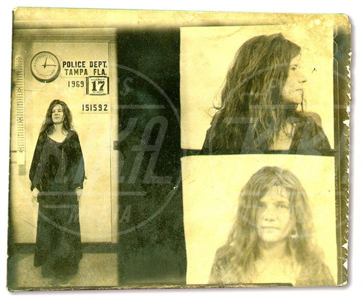 Janis Joplin - Tampa - 01-11-1969 - Da Bieber a McConaughey: non c'è divo senza arresto