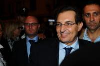 Rosario Crocetta - Palermo - 26-10-2012 - Battiato accetta la delega alla Cultura della regione Sicilia
