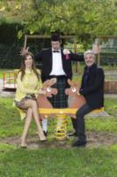 Alessandro Politi, Veronica Maya, Pino Insegno - Roma - 06-11-2012 - Lo Zecchino d'Oro ha due nuovi conduttori