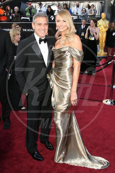 Stacy Keibler, George Clooney - Hollywood - 26-02-2012 - 2013: l'annus horribilis delle coppie più belle