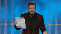Ricky Gervais - Los Angeles - 15-01-2012 - Le star su Twitter felici per Barack Obama, tranne Donald Trump
