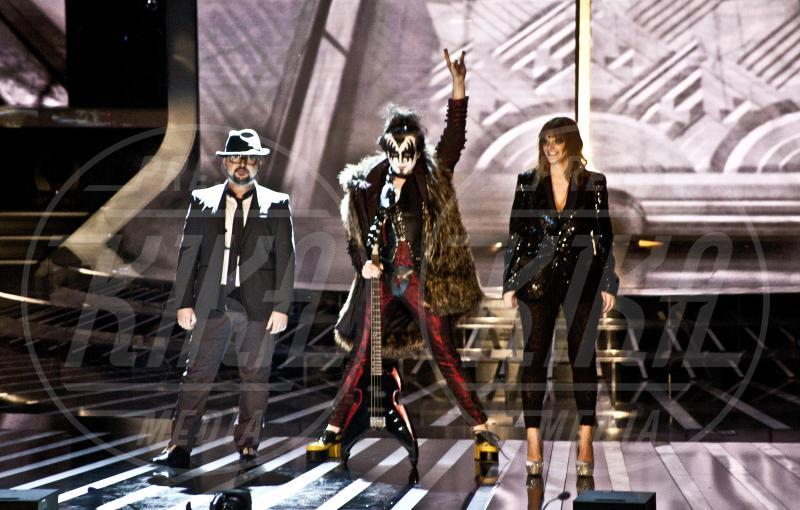 Ics, Chiara, Morgan - 15-11-2012 - X Factor 2012: la sfida dei tutor a colpi di look