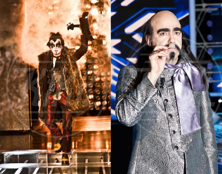 Elio, Morgan - Milano - 16-11-2012 - X Factor 2012: la sfida dei tutor a colpi di look