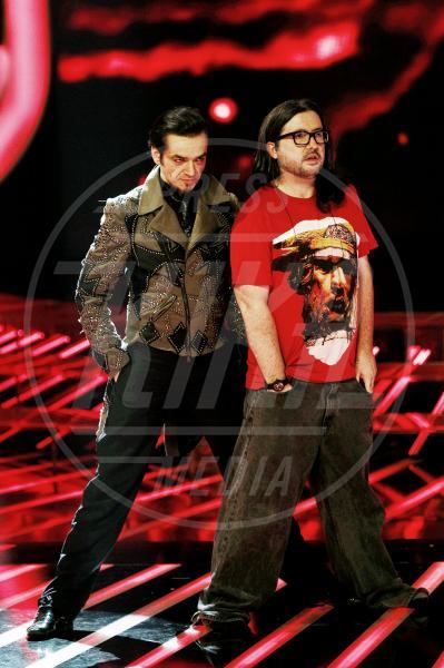 Ics, Morgan - Milano - 01-11-2012 - X Factor 2012: la sfida dei tutor a colpi di look