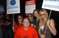 Marc Cherry, Brenda Strong, Felicity Huffman, Nicollette Sheridan - Universal City - 13-11-2007 - Respinto l'appello di Nicollette Sheridan contro la Abc