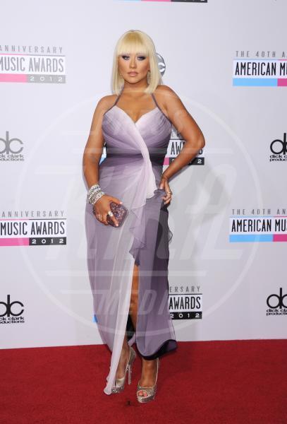 Christina Aguilera - Los Angeles - 18-11-2012 - Fermate Christina Aguilera: la cantante è sempre più magra