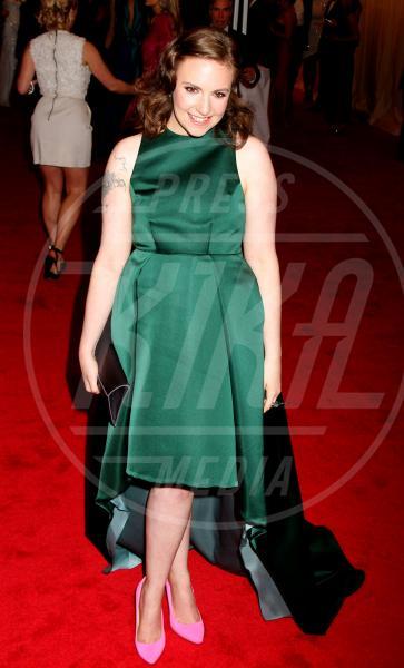 Lena Dunham - New York - 07-05-2012 - 2012: ecco le peggio vestite dell'anno