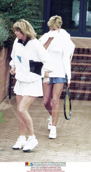 Lady Diana - Gli Us Open risvegliano la passione per il tennis delle star